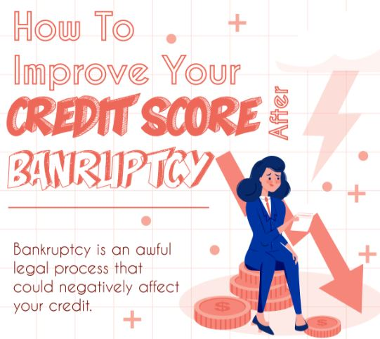 How-to-Improve-Your-Credit-Score-AFter-Bankruptcy-Infograph
