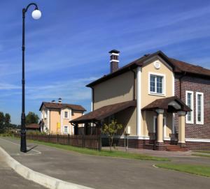 A home in a neighborhood